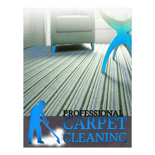 Carpet Cleaning Service Flyer Zazzle