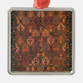 Carpet design metal ornament