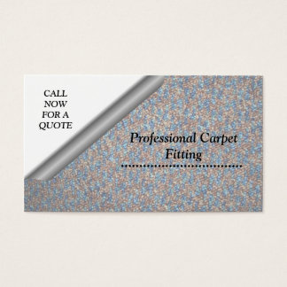 Carpet Fitting Business Card