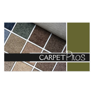 Carpet, Flooring, Construction Business Card Standard Business Cards