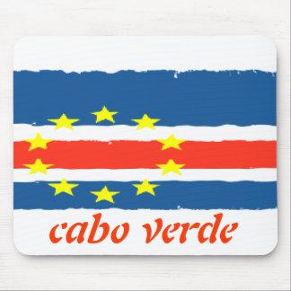 carpet for rat Cape Verde flag Mouse Pad