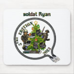 Carpet Lan mouse of Christmas Ryan soldier Mouse Pads