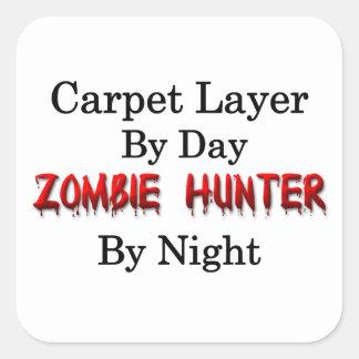 Carpet Layer/Zombie Hunter Square Sticker