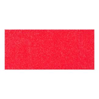 Carpet pattern rack card