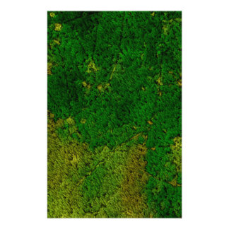 Carpet structure green custom stationery
