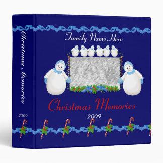 """Carpeta 1,5"""" de las memorias de los muñecos de nie"""