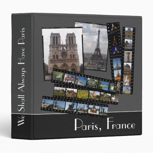 """Carpeta 1,5"""" del Paris Photo"""