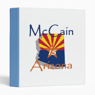 Carpeta 2010 de Avery del senado de McCain