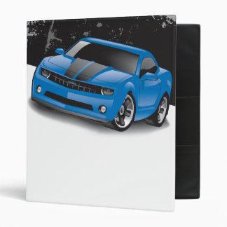 Carpeta 2010 de Chevrolet Camaro (azul)
