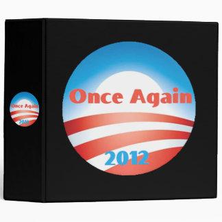 Carpeta 2012 de Obama Avery