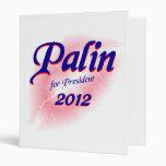 Carpeta 2012 de Sarah Palin