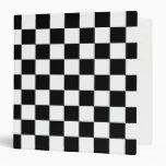 Carpeta a cuadros blanco y negro de Avery
