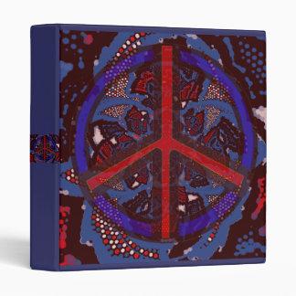 Carpeta abstracta de la paz