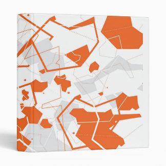 Carpeta abstracta de Origami