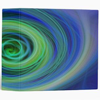 Carpeta abstracta del abismo que remolina