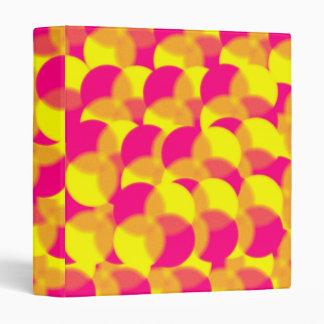 Carpeta abstracta del diseño 3-Ring