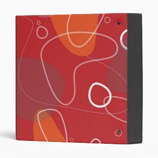 Carpeta abstracta Retro-Moderna