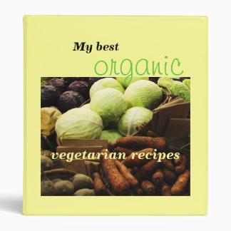 Carpeta adaptable de la receta de los Veggies orgá