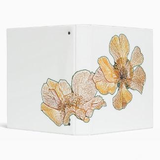 Carpeta amarilla del personalizable del dibujo de