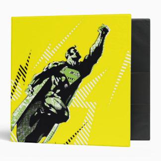 Carpeta amarilla del superhombre