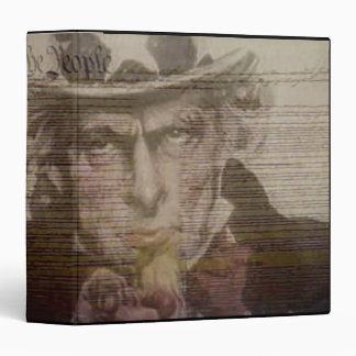 Carpeta americana de Avery del tío Sam