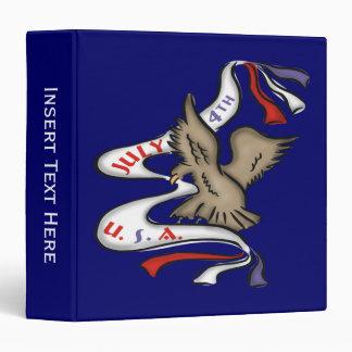 Carpeta americana de Eagle calvo Avery
