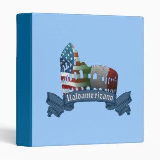 Carpeta americana italiana de Italoamericano