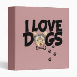"carpeta ""amo perros """
