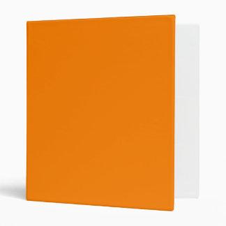 Carpeta anaranjada de Avery del arco iris