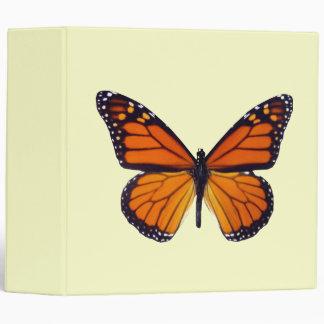 Carpeta anaranjada de la mariposa