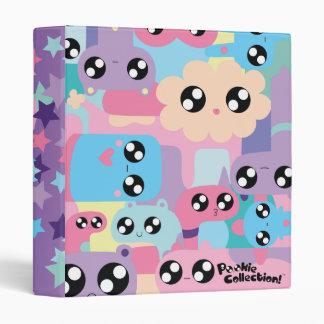 Carpeta anillada de Pookie 3 en colores pastel