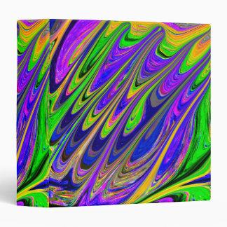 Carpeta artística del diseñador fluorescente