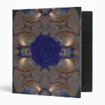 Carpeta azul de la belleza