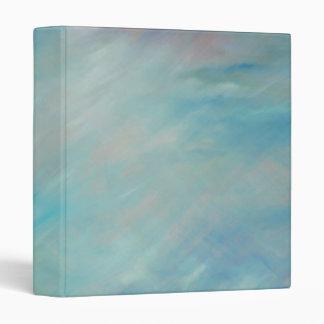 Carpeta azul del arte abstracto