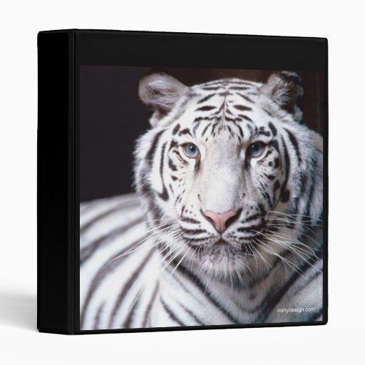 Carpeta blanca del tigre de Bengala