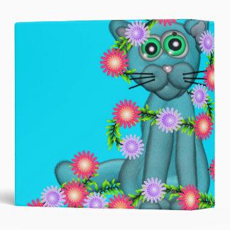 Carpeta bonita del gatito 3-Ring