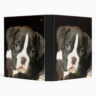 Carpeta Brindle del perrito del boxeador