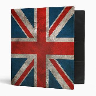 Carpeta británica de la bandera de Union Jack