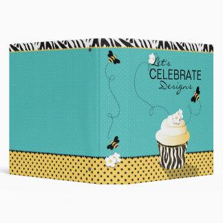 Carpeta C de la abeja 1,5 del cumpleaños