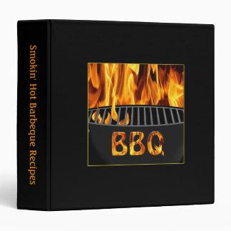 Carpeta caliente de la receta del Bbq de Smokin