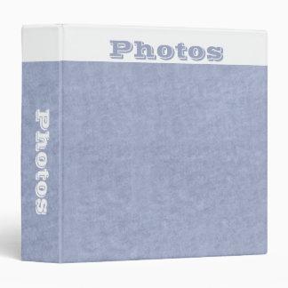 Carpeta cambiante de los azules de los álbumes de