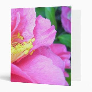 Carpeta - camelia rosada oscura