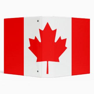 Carpeta canadiense de Avery de la bandera