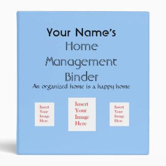 Carpeta casera personalizada de la gestión