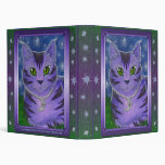 Carpeta celestial de Avery de la fantasía del gato