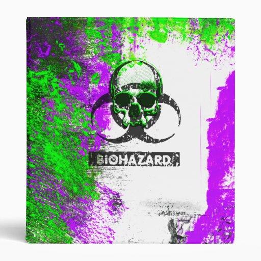 Carpeta cibernética del arte del Grunge del gótico