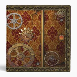 """Carpeta clásica 1,5"""" de Steampunk"""