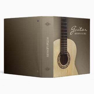 Carpeta clásica de la guitarra