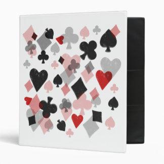 Carpeta - collage del juego de la tarjeta del