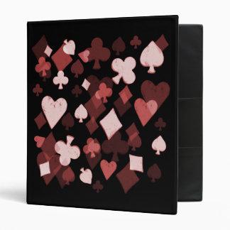 Carpeta - collage del juego de la tarjeta del vint